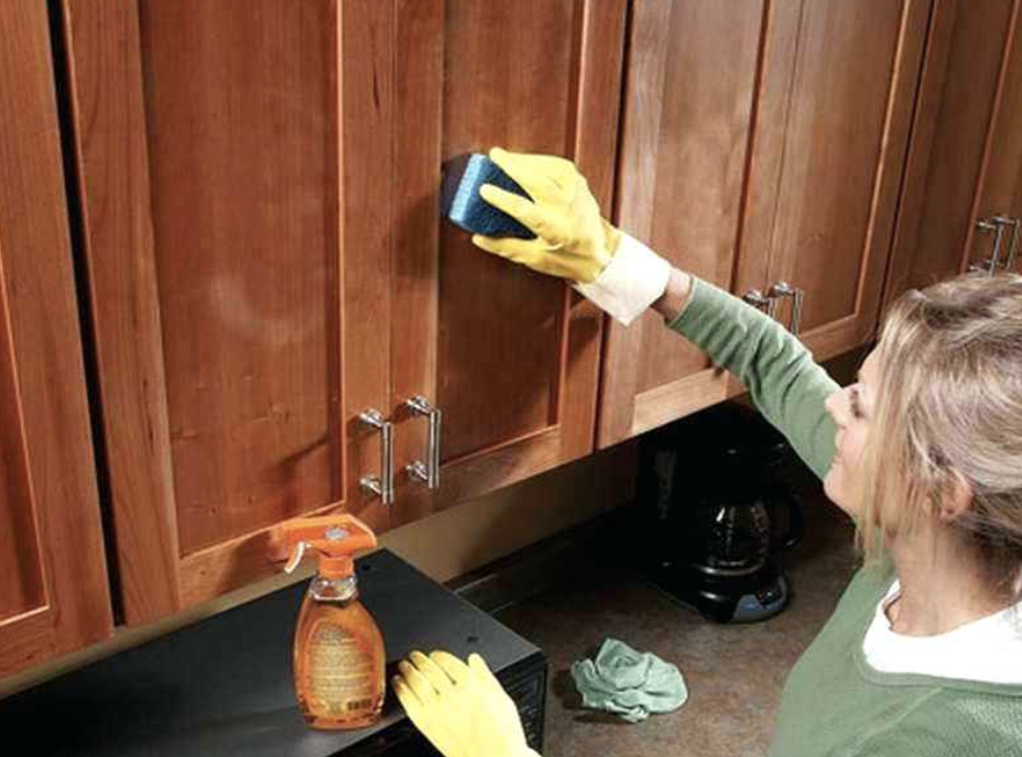 cleaning cupboard