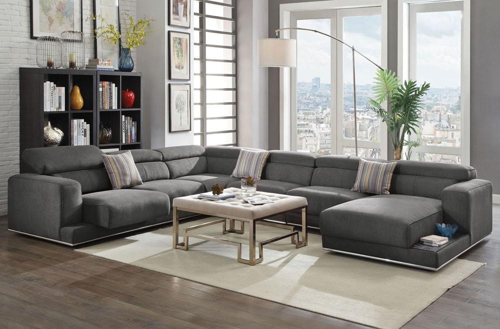 long l shape couch