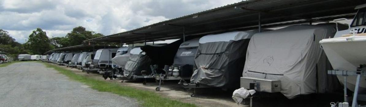Caravan and boat storage in Rivendell
