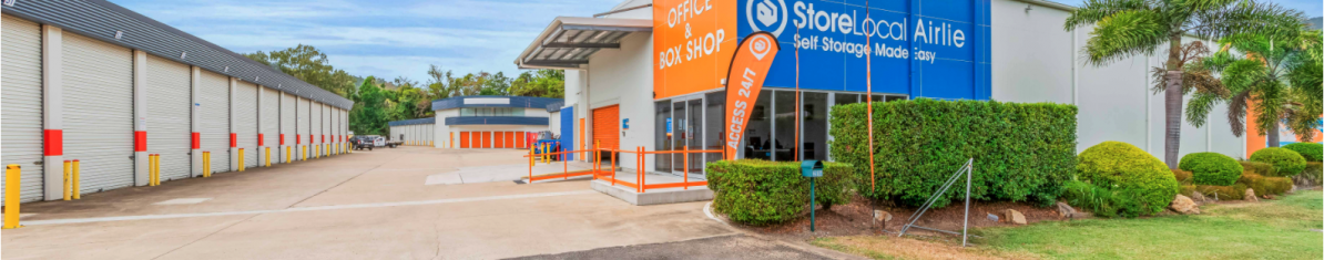 Store Your Retail Items At Airlie Beach