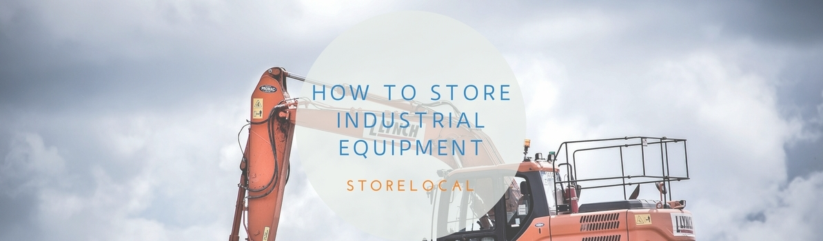 Storing Industrial Equipment