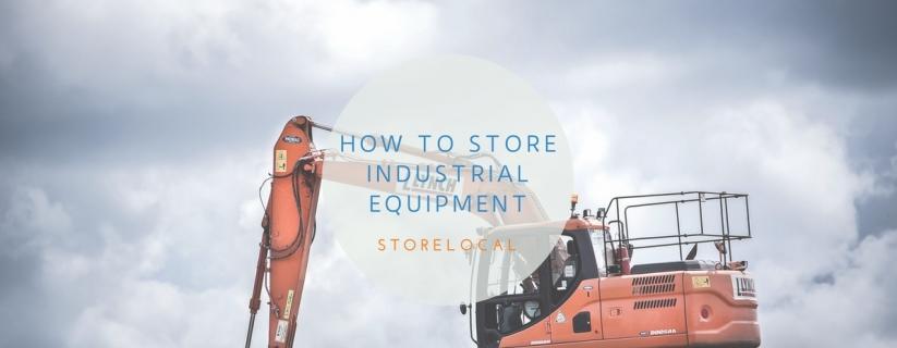 Storing Industrial Equipment