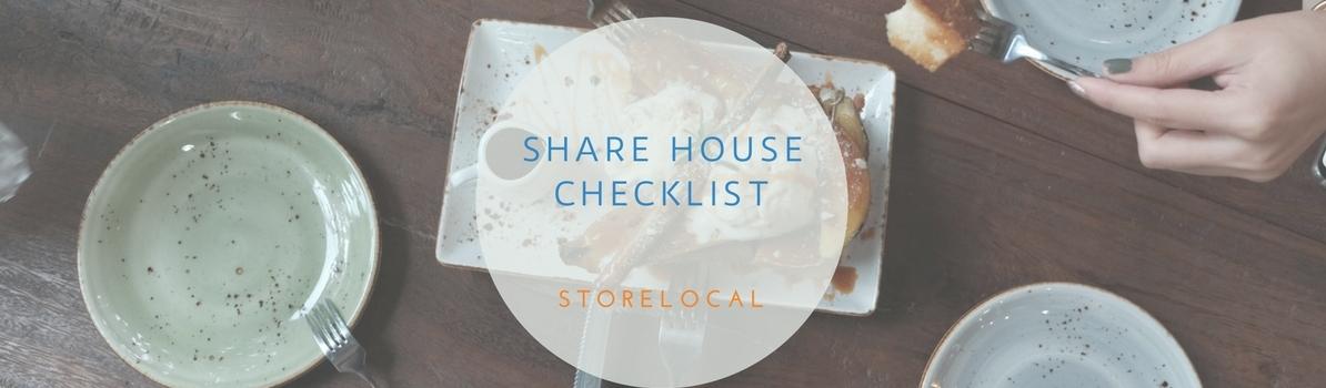 Share House Checklist