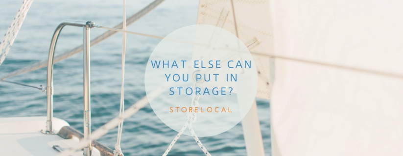 What else can you Put in Storage?