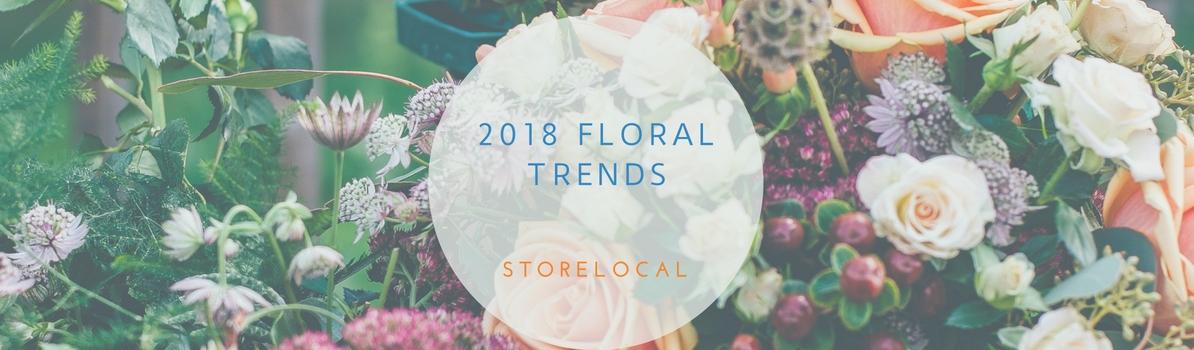 2018 Floral Trends