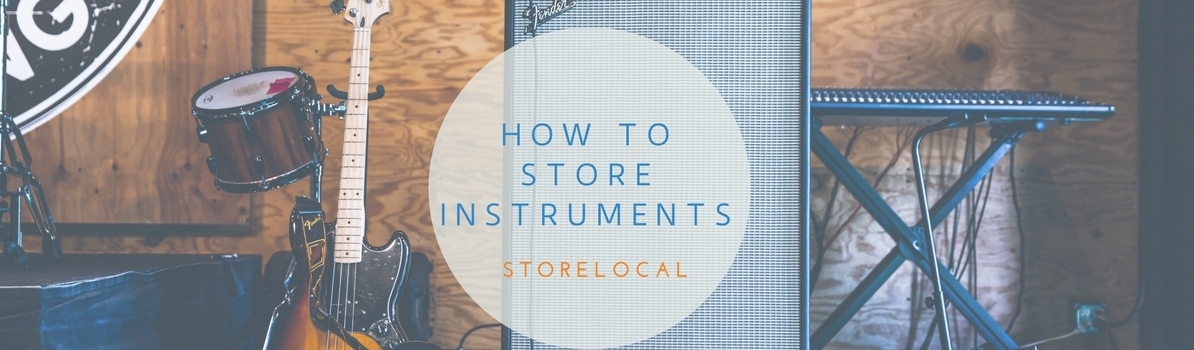 Storing Musical Instruments – StoreLocal Campbellfield
