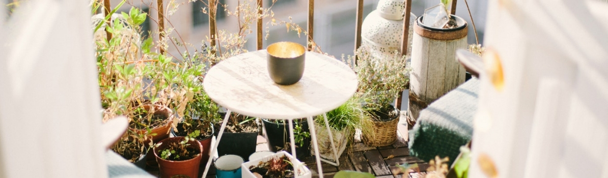 Create the perfect balcony garden