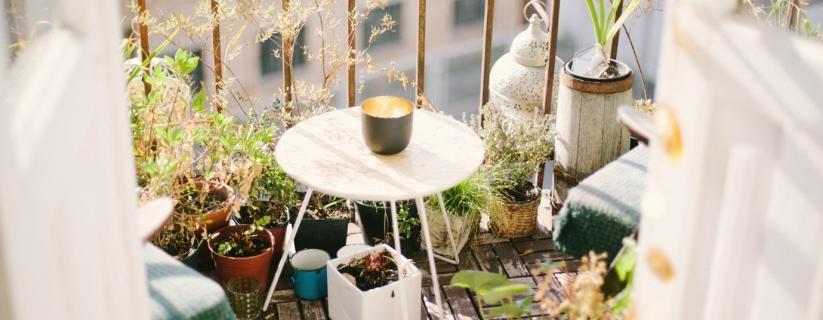 Create the perfect balcony garden